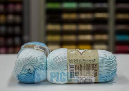 Poze Fir de tricotat sau crosetat - Fir BUMBAC 100% ALIZE BELLA BATIK 2130