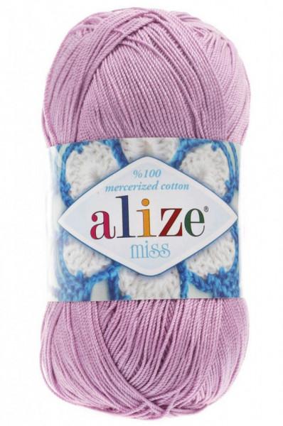 Poze Fir de tricotat sau crosetat - Fir BUMBAC 100% ALIZE MISS ROZ 474