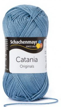 Poze Fir de tricotat sau crosetat - Fir BUMBAC 100% MERCERIZAT CATANIA DENIM 421