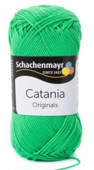 Poze Fir de tricotat sau crosetat - Fir BUMBAC 100% MERCERIZAT CATANIA VERDE 389
