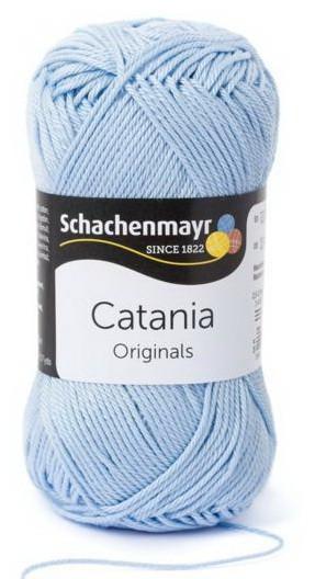 Poze Fir de tricotat sau crosetat - Fir BUMBAC 100% MERCERIZAT CATANIA HELLBLAU 173