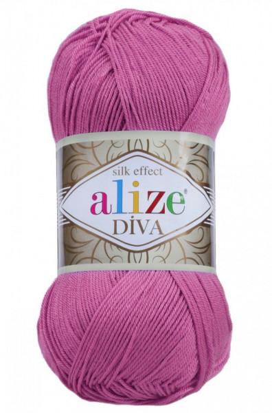Poze Fir de tricotat sau crosetat - Fir microfibra ALIZE DIVA LILA 378