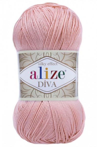 Poze Fir de tricotat sau crosetat - Fir microfibra ALIZE DIVA ROZ 363