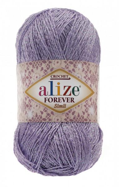 Poze Fir de tricotat sau crosetat - Fir microfibra ALIZE FOREVER SIMLI LILA 158