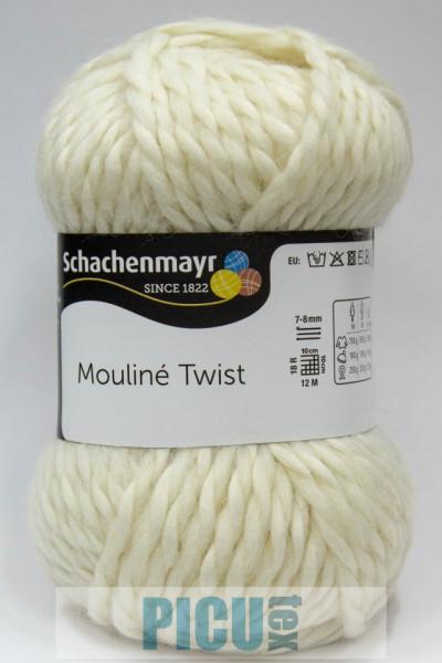 Poze Fir de tricotat sau crosetat - Fir SCHACHENMAYR Mouline Twist CREM 00002