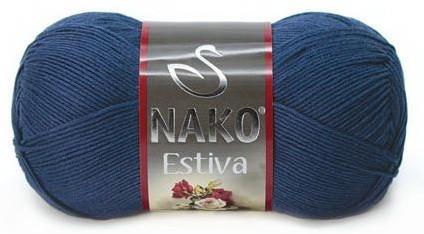 Poze Fir de tricotat sau crosetat - Fire amestec Bumbac + Bambus NAKO ESTIVA BLEOMAREN 6955