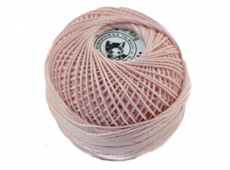 Poze Fir de tricotat sau crosetat - Fire Bumbac 100% ANGELICA ROMANOFIR BOBINA ROZ 1206