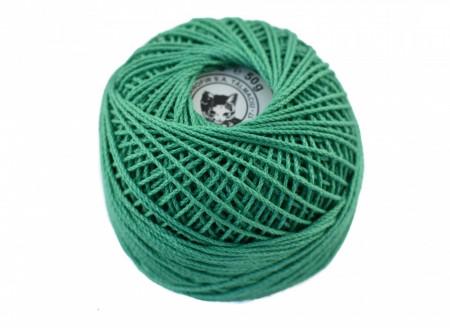 Poze Fir de tricotat sau crosetat - Fire Bumbac 100% ANGELICA ROMANOFIR BOBINA VERNIL 1249