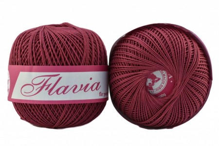 Poze Fir de tricotat sau crosetat - Fire Bumbac 100% FLAVIA ROMANOFIR BOBINA MOV 1215