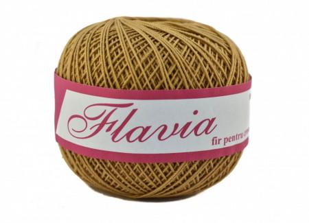 Poze Fir de tricotat sau crosetat - Fire Bumbac 100% FLAVIA ROMANOFIR BOBINA BEJ 1292