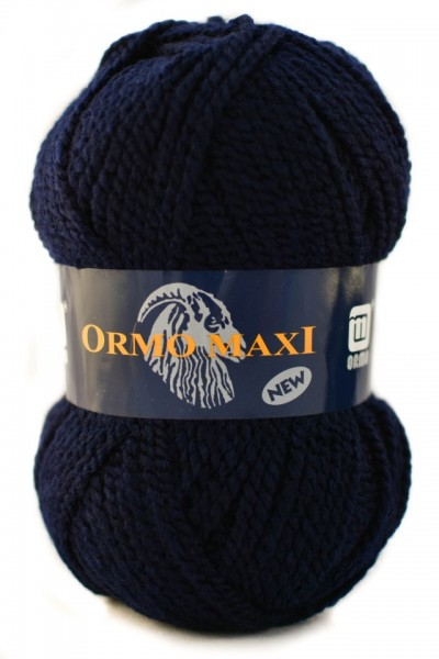 Poze Fir de tricotat sau crosetat - Fire Nako - Ormo Maxi - ALBASTRU MARIN - 1138