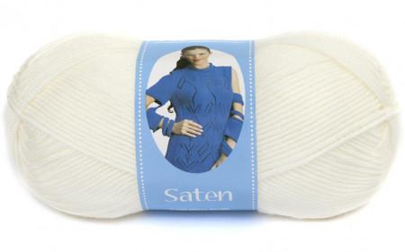 Poze Fir de tricotat sau crosetat - Fire Nako SATEN IVOAR 300