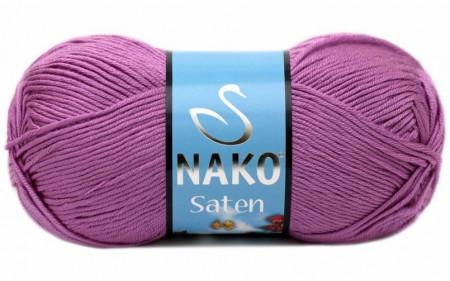 Poze Fir de tricotat sau crosetat - Fire Nako SATEN MOV 1249