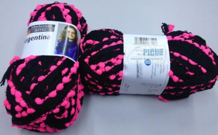 Poze Fir de tricotat sau crosetat - Fire pretricotat esarfa Argentina A135