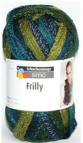 Poze Fir de tricotat sau crosetat - Fire pretricotate esarfa FRILLY degrade 089