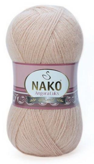 Poze Fir de tricotat sau crosetat - Fire tip mohair acril NAKO ANGORA LUKS CREAM 10042