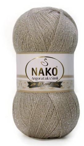 Poze Fir de tricotat sau crosetat - Fire tip mohair acril NAKO ANGORA LUKS SIMLI COD 1199
