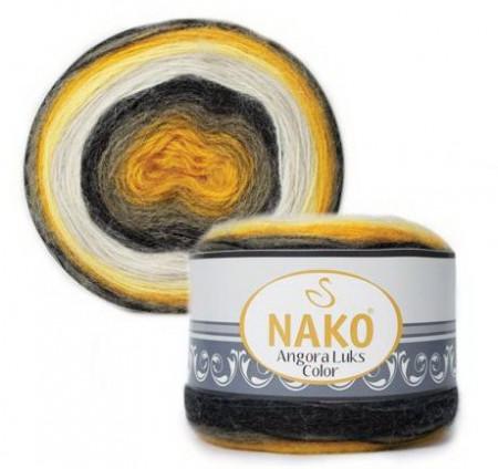 Poze Fir de tricotat sau crosetat - Fire tip mohair acril NAKO ANGORA LUKS COLOR 81908