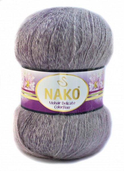 Poze Fir de tricotat sau crosetat - Fire tip mohair acril NAKO MOHAIR DELICATE COLORFLOW DEGRADE 28082