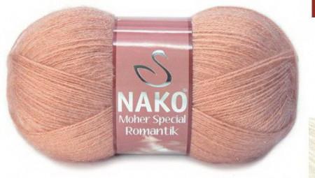Poze Fir de tricotat sau crosetat - Fire tip mohair acril NAKO MOHER SPECIAL ROMANTIK SOMON 11311