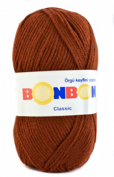 Poze Fir de tricotat sau crosetat - Fire tip mohair din acril BONBON CLASIC MARO 98322
