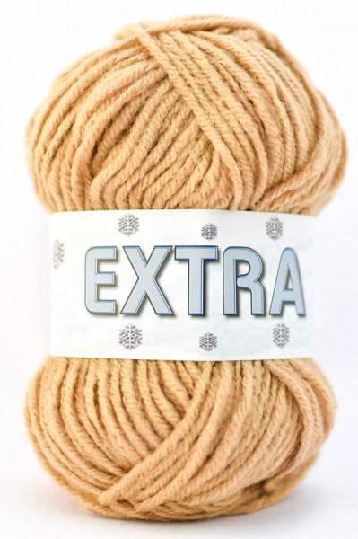 Poze Fir de tricotat sau crosetat - Fire tip mohair din acril CANGURO -EXTRA BEJ- 317