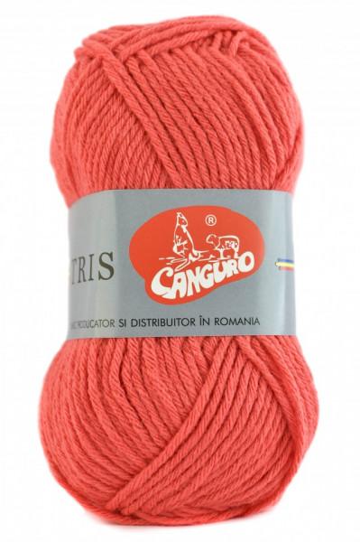 Poze Fir de tricotat sau crosetat - Fire tip mohair din acril CANGURO - TRIS CORAI 385