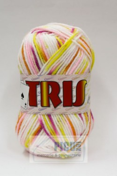 Poze Fir de tricotat sau crosetat - Fire tip mohair din acril CANGURO - TRIS IMPRIMAT DEGRADE 356