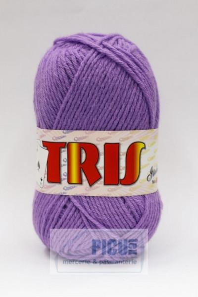 Poze Fir de tricotat sau crosetat - Fire tip mohair din acril CANGURO - TRIS LILA 333