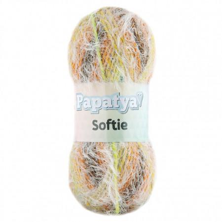 Poze Fir de tricotat sau crosetat - Fire tip mohair din acril Kamgarn Papatya Softie Degrade 703