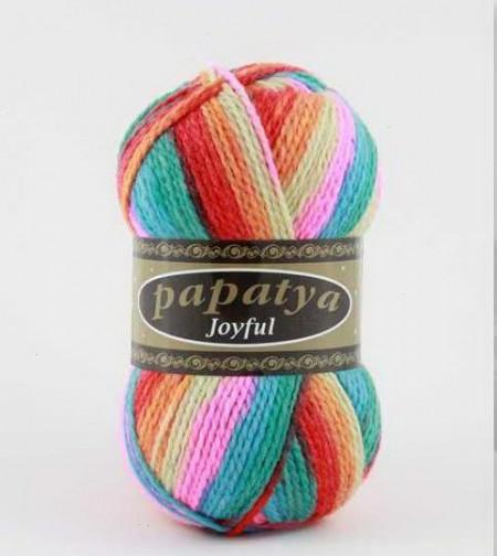 Poze Fir de tricotat sau crosetat - Fire tip mohair din acril Kamgarn Papatya Joyful degrade 17