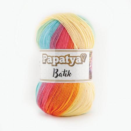 Poze Fir de tricotat sau crosetat - Fire tip mohair din acril Kamgarn Papatya Batik degrade 12