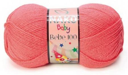 Poze Fir de tricotat sau crosetat - Fire tip mohair din acril Nako Baby Bebe 100 ROZ 11201