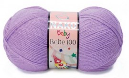 Poze Fir de tricotat sau crosetat - Fire tip mohair din acril Nako Baby LILA 1036