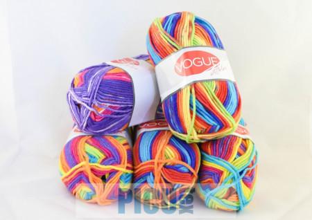 Poze Fir de tricotat sau crosetat - Fire tip mohair din acril Nako Export - #5709