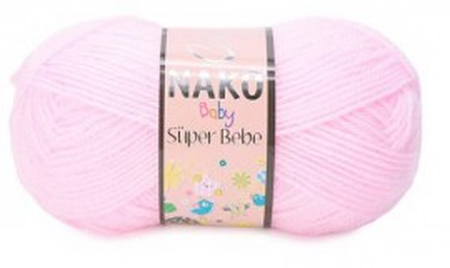 Poze Fir de tricotat sau crosetat - Fire tip mohair din acril Nako SUPER BEBE ROZ 23069