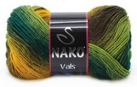 Poze Fir de tricotat sau crosetat - Fire tip mohair din acril premium Nako VALS DEGRADE 85989