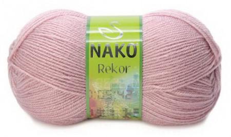 Poze Fir de tricotat sau crosetat - Fire tip mohair din acril premium Nako REKOR ROZ 10275