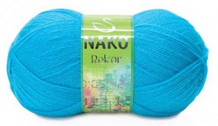 Poze Fir de tricotat sau crosetat - Fire tip mohair din acril premium Nako REKOR  BLEO 235