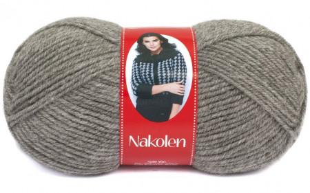 Poze Fir de tricotat sau crosetat - Fire tip mohair din lana 50% si acril 50% Nakolen GRI 194