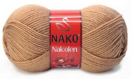 Poze Fir de tricotat sau crosetat - Fire tip mohair din lana 50% si acril 50% Nakolen BEJ 221