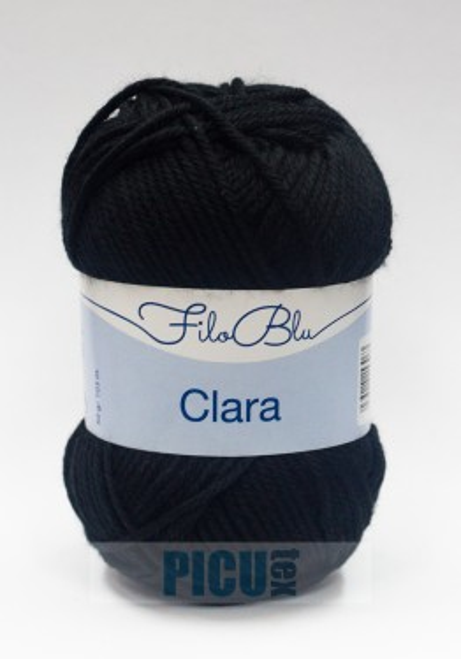 Poze Fir de tricotat sau crosetat - Fire tip mohair din poliester Filo Blu - Clara 18