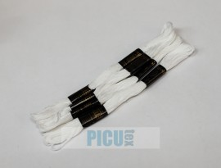 Poze ATA MOULINE RANGOLI, BUMBAC 100% cod WHITE - ALB
