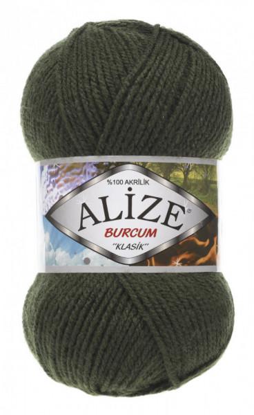 Poze Fir de tricotat sau crosetat - Fir ACRILIC ALIZE BURCUM KLASIK VERDE 29
