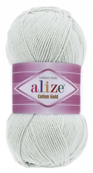 Poze Fir de tricotat sau crosetat - Fir ALIZE COTTON GOLD GRI 533