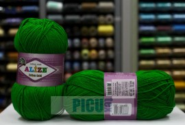 Poze Fir de tricotat sau crosetat - Fir ALIZE COTTON GOLD VERDE 126