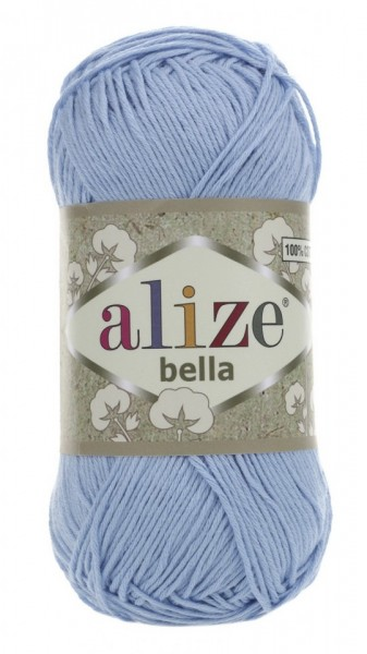 Poze Fir de tricotat sau crosetat - Fir BUMBAC 100% ALIZE BELLA - BLEO 40
