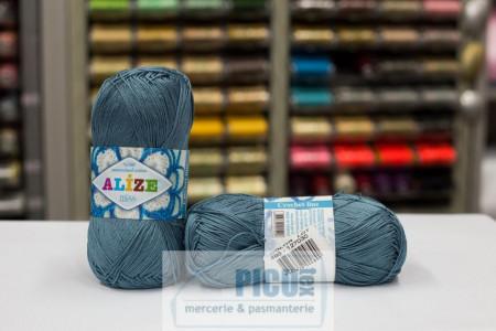 Poze Fir de tricotat sau crosetat - Fir BUMBAC 100% ALIZE MISS BLEO-GRI 498
