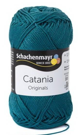 Poze Fir de tricotat sau crosetat - Fir BUMBAC 100% MERCERIZAT CATANIA PETROL 391