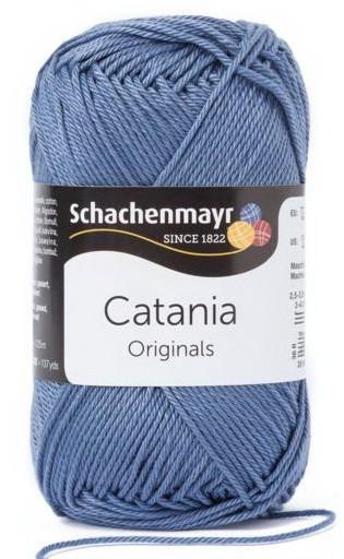 Poze Fir de tricotat sau crosetat - Fir BUMBAC 100% MERCERIZAT CATANIA GRAUBLAU 269